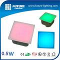 shenzhen 5 anos garantia ip67 exterior resistente superfície de vidro luz led chão de tijolo