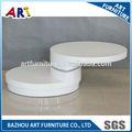 mesa de madeira redonda