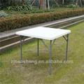 87cm cuadrada de plástico plegable mesa de interior/plegable al aire libre mesa de comedor para/banquete/balcón/camping/patio