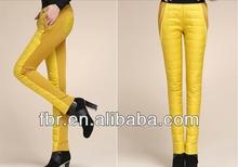 las mujeres de alta calidad de diseño ultraligero edredones ligero pantalones al aire libre pantalones abajo