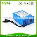 Fabricación de Shenzhen batería recargable de la batería de litio de 12V 20Ah para la luz LED, cámara de circuito cerrado de tel