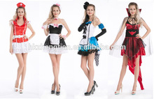 os trajes de halloween trajes enfermeira fantasias de marinheiro ssles quente