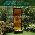 Jardin décoratif mur d'eau bon marché moderne en verre de l'écran et paravent