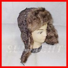la costumbre de rusia sombrero de piel