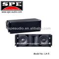 spe de audio mini line array dual 10 pulgadas caja del altavoz line array sistema de altavoces