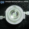 3w 405nm uv de alta potencia led de diodos para las uñas