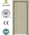 Económico PVC Puerta Interior de madera de Zhejiang Proveedor