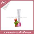 Moda decorativa hermosa/venta al por mayor de vidrio florero/florero de cristal
