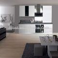 ak427 de alto brillo gabinete de cocina de diseño para la pequeña cocina