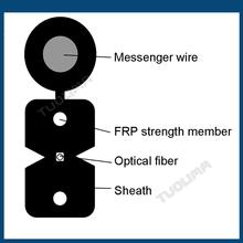 tuolima de alambre caída de cable de teléfono de fabricación
