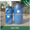 Alto quanlity y precio bajo 70% de sodio laurel éter sulfato