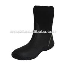 preto barato impermeável de neoprene botas de pesca