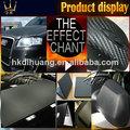 nouveaux produits de 3d voiture film de vinyle en fibre de carbone