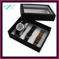 2014 regalo promocional establecido para los hombres con conjuntos de relojes baratos de alta calidad
