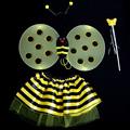 forma de abelha fairys asas asa para crianças decoração do partido