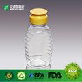 de plástico apretar la botella