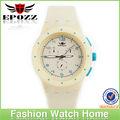 relojes finos de silicona de pulsera para damas y niños, elegante y de moda, de varios colores