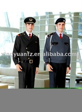 guardia de seguridad uniforme