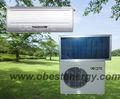 dc solar alimentado de aire acondicionado para hogares