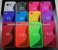 S TPU cubierta de la caja de línea más barata para Iphone4 4S todos los colores
