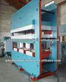 Piso de borracha vulcanizadora máquina/certificado iso de vulcanização da borracha imprensa da máquina