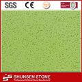 Grama verde da areia de quartzo Artificial Pedra SQZ2005