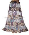 2014 nuevo faldas verano playa elegante faldas para mujer
