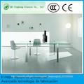 Mesa de centro pequeñas blancas de cristal comedor vidrio