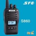 Sfe s860 uhf400-470mhz transceptor portátil scrambler de voz
