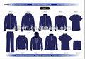 Ssj sport kit camisas de t/camisas de polo/pantalones cortos/chaqueta