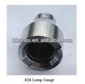 calibre de lámpara E26