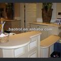 Seamless moderno bancada/pedra sintética/bancada de alto grau de materiais de decoração