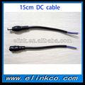 De alta calidad el mejor precio de la energía 5.5\2.5 conector dc cable de alimentación