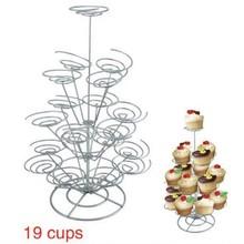 19 taza está magdalena/pastel de pie/decoración de la torta