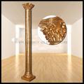 Frp decoración columna romana/pilar de la pu columna romana/decoración de hogar/de fibra de vidrio columnas de la boda