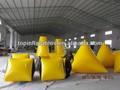 2014 venda quente superior paintball inflável bunker