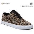 Los hombres de moda de leopardo zapatos casuales