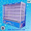 Ampliamente utilizado varias cubiertas refrigerador de comestibles