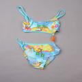 цветочные детские милые купальники для девочек