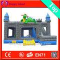 O mais novo 2014 interior seguranças inflável para kids\thomas train\ indoor pequeno castelo bouncer para venda