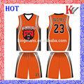 las ventas caliente de alta calidad baratos uniformes del baloncesto personalizado para las mujeres