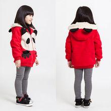 nuevo diseño de moda los niños fabricantes de ropa para niños sudadera con capucha con panda