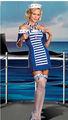sexy traje de marinero chica l1240