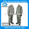 camuflaje acu uniforme militar bdu estilo clásica versión de combate del ejército uniforme militar en acucamo