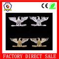 De oro y de plata en forma de eagle badge el coronel cuello de encaje insignia( hh- badge- 385)