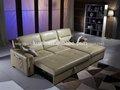 móveis para sala de couro pequeno sofá cama