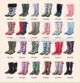 Baratos pvc durável/galochas de borracha botas de chuva