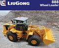 30ton CLG888II cargador frontal LIUGONG con 4.5 m3 cuchara para cargadora de ruedas