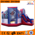 De alta calidad juguetes de spiderman juguetes al aire libre de rebote de aire inflable con precio de fábrica