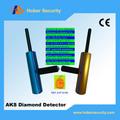 Venta caliente de la caza del tesoro fácil de operar aks detectores de oro, preciosas subterráneo detectores de metales